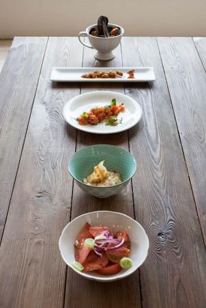 muestra platos casa luz ribadesella